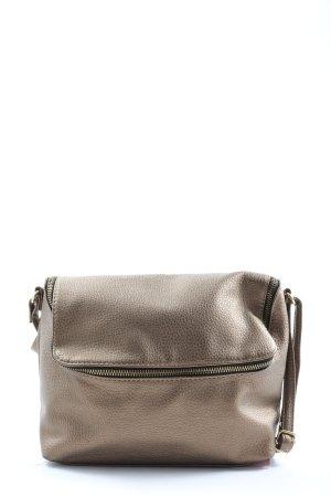 H&M Schultertasche bronzefarben Casual-Look