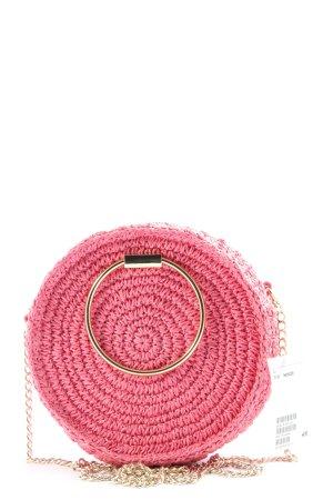 H&M Schoudertas roze casual uitstraling