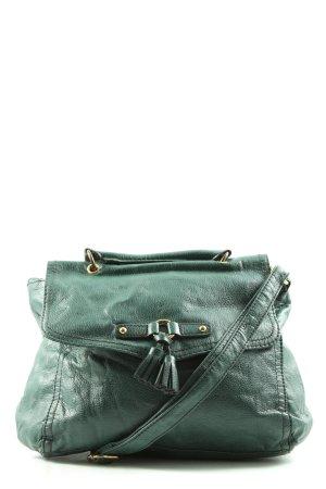 H&M Schultertasche grün Casual-Look