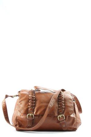 H&M Schultertasche braun Casual-Look