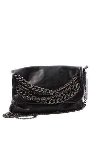 H&M Schultertasche schwarz Casual-Look