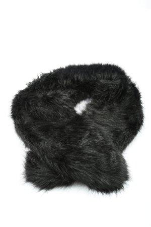 H&M Schoudersjaal zwart casual uitstraling