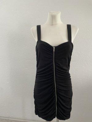 H&M schwarz Sommerkleid kurz 42 sexy cute