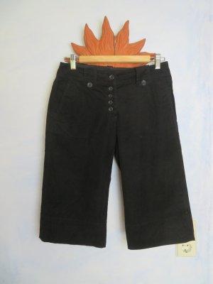 H&M Culottes black cotton