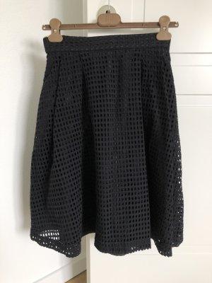 H&M Circle Skirt black