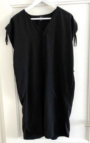 H&M Schwarzes Kleid luftig