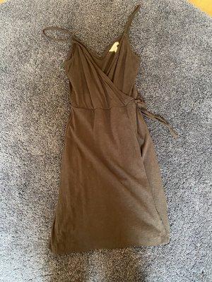 H&M / schwarzes Wickelkleid