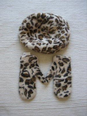 H&M Cappello a maglia marrone chiaro-beige