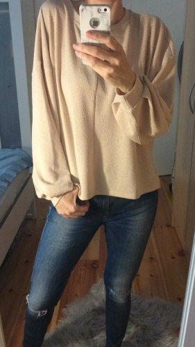 H&M Shirt Bluse Ballonärmel Oversize