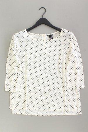 H&M Shirt Größe L gepunktet 3/4 Ärmel creme aus Leinen