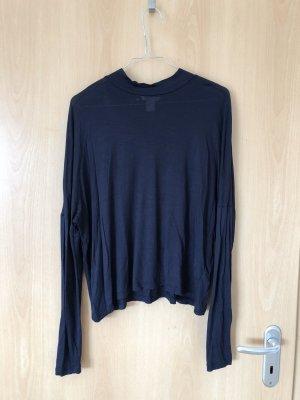 H&M Turtleneck Shirt dark blue