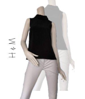 H&M Shirt Schwarz Gr. 32 - Neu