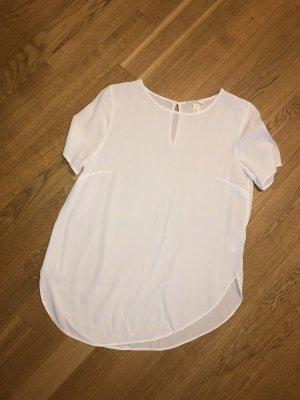 H&M-Shirt Weiss