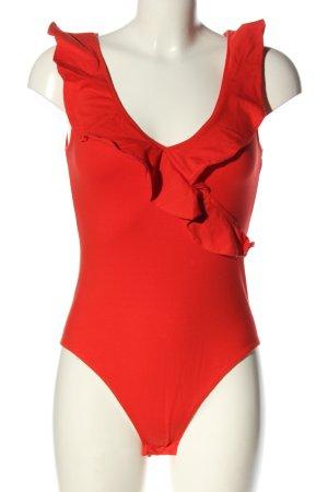 H&M Body czerwony W stylu casual