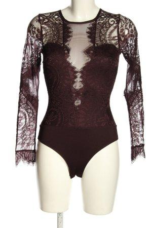 H&M Shirtbody braun Elegant