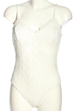 H&M Body blanc style décontracté