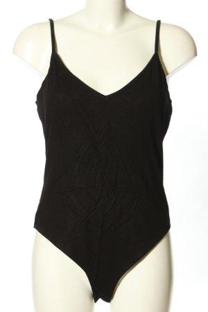 H&M Shirt Body black casual look