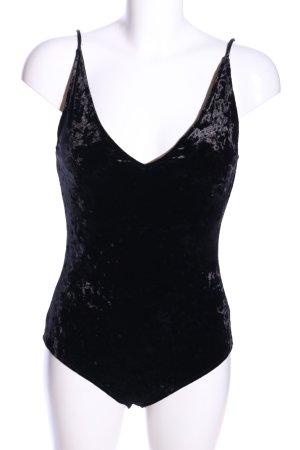 H&M Shirtbody schwarz Elegant