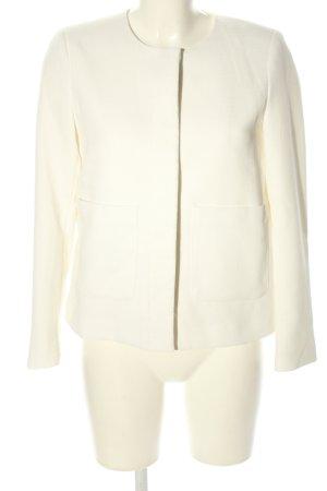 H&M Shirtjacke weiß Business-Look