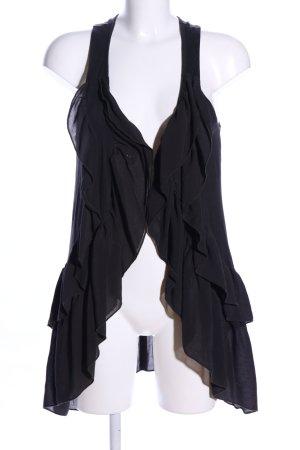 H&M Shirtjacke schwarz Business-Look