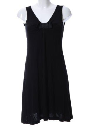 H&M Shirtkleid schwarz Business-Look