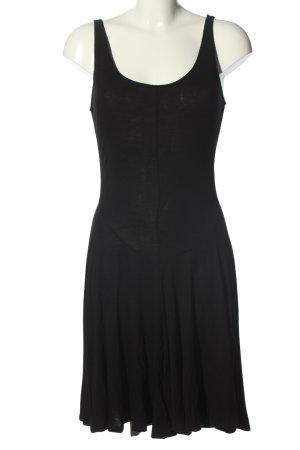 H&M Vestido estilo camisa negro look casual