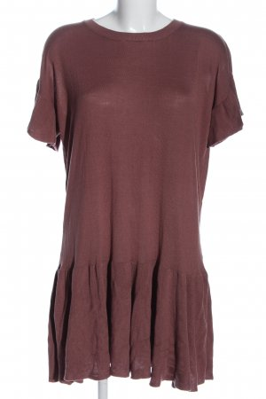 H&M Shirtkleid braun Casual-Look
