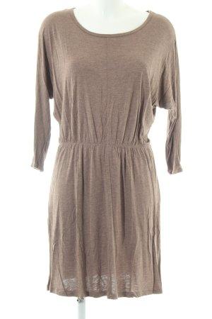 H&M Shirtkleid braun meliert Casual-Look