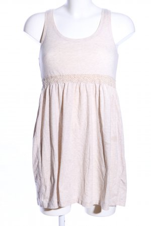 H&M Shirtkleid wollweiß meliert Casual-Look