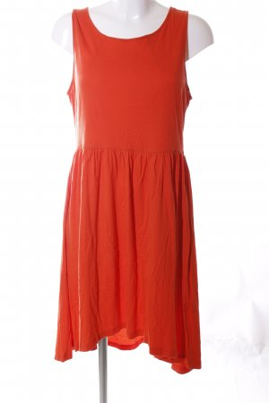 H&M Vestido estilo camisa rojo look casual