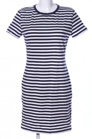 H&M Shirt Dress black-white striped pattern casual look