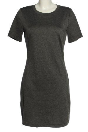 H&M Shirtkleid schwarz meliert Casual-Look