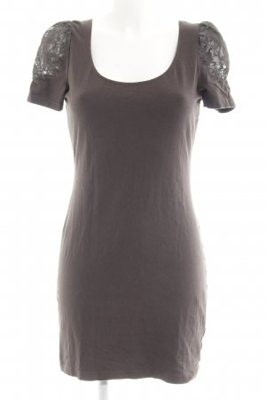 H&M Shirtkleid hellbraun Casual-Look