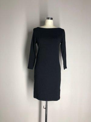 H&M Shirtkleid, schwarz