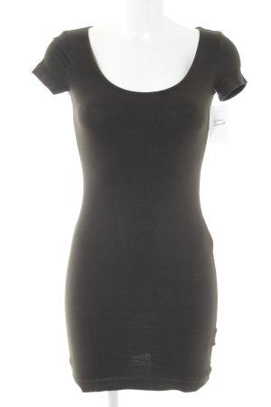 H&M Shirtkleid schwarz Casual-Look