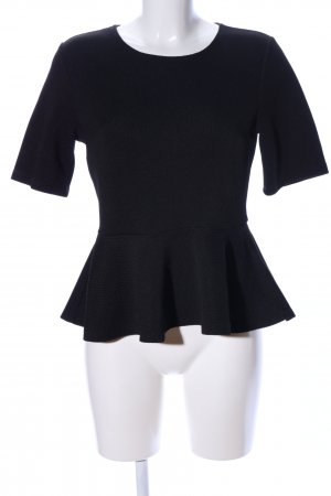 H&M Shirttunika schwarz meliert Business-Look