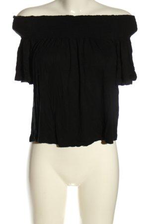 H&M Top épaules dénudées noir style décontracté