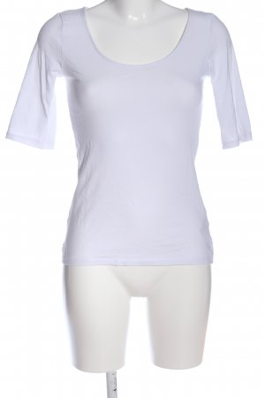 H&M Shirttunika weiß Casual-Look