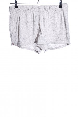 H&M Shorts light grey flecked simple style