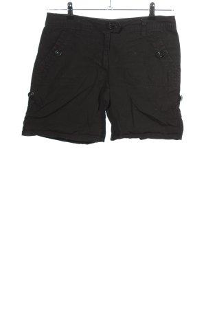 H&M Short noir style décontracté