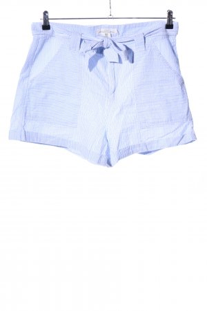 H&M Shorts blue striped pattern casual look