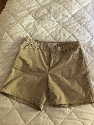 H&M Pantalón corto deportivo crema Algodón