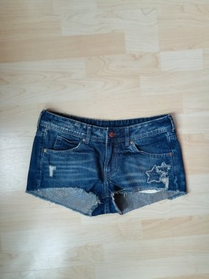 H&M Hot pants donkerblauw