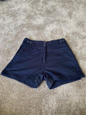 H&M Short bleu foncé