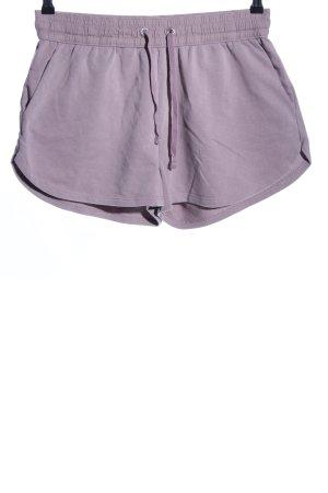 H&M Spodenki fiolet W stylu casual
