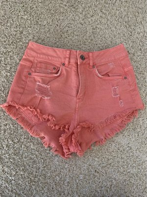 H&M Divided Short moulant rouge clair-saumon