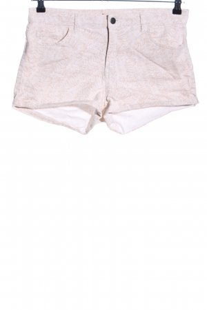 H&M Shorts creme Animalmuster Casual-Look