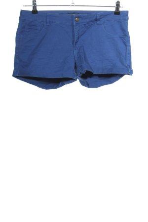 H&M Spodenki niebieski W stylu casual