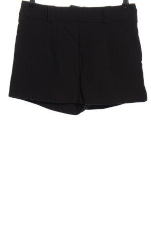 H&M Shorts schwarz Business-Look