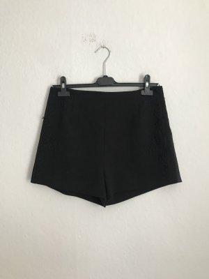 H&M Short taille haute noir
